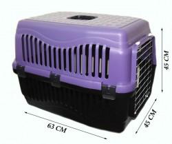 Apco - Büyük Kedi/Köpek Taşıma Kabı Voyager (Metal Kapılı)