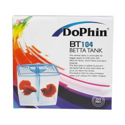 Dophin - Dophin BT104 Betta Tank - İkili Beta Kabı