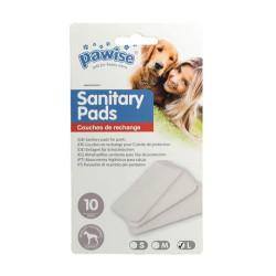 Pawise - 13038 Pawise Sanitary Pads - Köpek Külot Pedi L Boy 10 lu