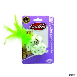 CatLife - 203062 CATLIFE Kediler için Tüylü Zilli Oyuncak
