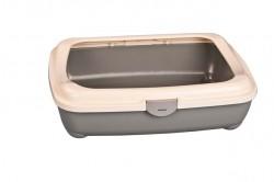 Afp - 2204 Kitty Litter w / Hinge Cover / Kedi Tuvaleti 49cm.x38cm.x15cm.