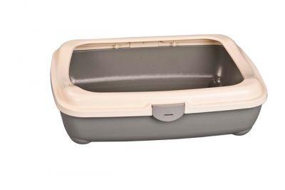 2204 Kitty Litter w / Hinge Cover / Kedi Tuvaleti 49cm.x38cm.x15cm.