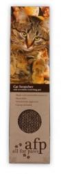 Afp - 2322 C.Single Cat Scratc./Tek Taraflı Catnipli Karton Kedi Tırmalama