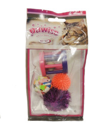Pawise - 28205 Assorted Cat Toy 4 pcs - Çeşitli Kedi Oyuncağı 4 lü