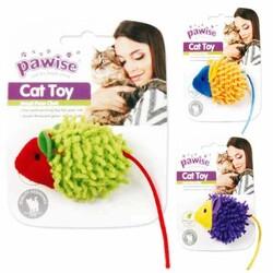 Pawise - 28297 Pawise Kumaş Oyuncak Meow Meow Life Mouse