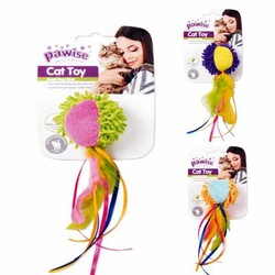 Pawise - 28298 Pawise Kumaş Oyuncak Meow Meow Life Ball With Tail