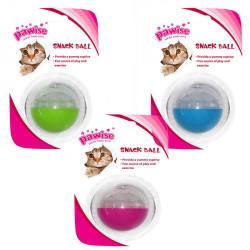 Pawise - 28501 Cat Treat Ball - Kedi Akıllı Mama Topu 5 cm