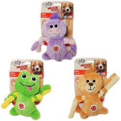 Afp - 3066 Knoty (Hippo,Frog,Lion) /Düğümlü Peluş Köpek Oyuncağı