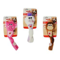 Afp - 3067 Fetchers(Elephant,Cow,Monkey) /Kukla Peluş Köpek Oyuncağı
