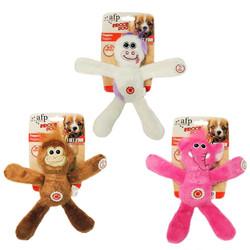 Afp - 3071 Floppers(Elephant,Cow,Monkey) /Peluş Köpek Oyuncağı