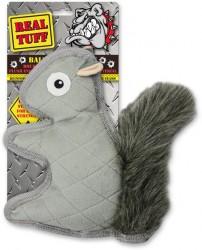 Afp - 3077 Real Tuff-Squirrel-LG/Sıkmalı ve Sesli Sincap Oyuncak