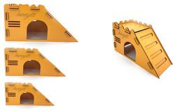 Fatih-Pet - 3lü Hamster Oyun Evi