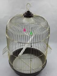 Getreide - 405 Kuş Kafesi Pirinç (Silindir) - 42x83 cm