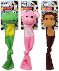 Afp - 4159 Dog Toys-Frog, Monkey,Pig(3Asst)/Köpek Oyuncağı
