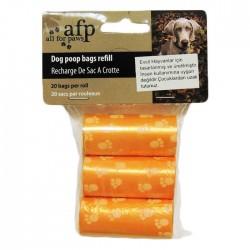 Afp - 5801 Poop Bag Refills - 3pack (20pc per roll)/Dışkı Toplama Torbası