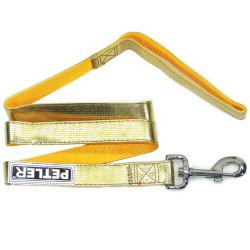 Petler - 8090-L25S Altın Sarı Uzatma Tasma 10mm/122 cm