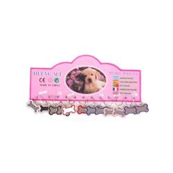 Fatih-Pet - 81053 Kedi&Köpek Kemik Şeklinde İsimlik 12 li