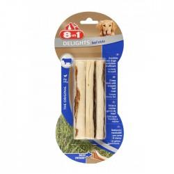 8IN1 - 8in1 Delights Beef Sticks Biftekli Ağız Bakım Çubuğu 3 lü 75 gr