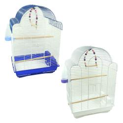 Fatih-Pet - A-700 Çift Renk Boyalı Papağan Kafesi 31x42x64 cm