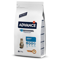 Advance - Advance Cat Adult 1-10 Chicken&Rice - Tavuklu ve Pirinçli Yetişkin Kedi Maması 1,5 Kg