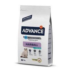 Advance - Advance Cat Hairball Sterilized Turkey&Barley - Hindili ve Arpalı Tüy Yumağı Önl. Kedi Maması 3 Kg