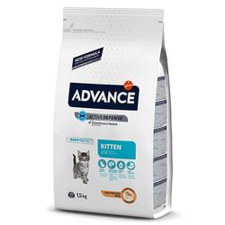 Advance - Advance Cat Kitten 2-12 Chicken&Rice - Tavuklu ve Pirinçli Yavru Kedi Maması 1,5 Kg