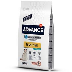 Advance - Advance Cat Sensitive Sterilized Salmon&Barley - Somonlu ve Arpalı Kısır Kedi Maması 10 Kg