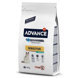 Advance - Advance Cat Sensitive Sterilized Salmon&Barley - Somonlu ve Arpalı Kısır Kedi Maması 1,5 Kg