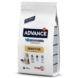 Advance - Advance Cat Sensitive Adult 1-10 Salmon&Rice - Somonlu ve Pirinçli Yetişkin Kedi Maması 1,5 Kg