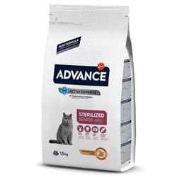 Advance - Advance Cat Sterilized +10 Senior - 10 Yaş Üstü Kısır Kedi Maması 1,5 Kg