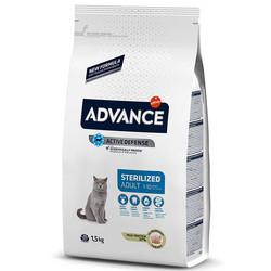 Advance - Advance Cat Sterilized Adult 1-10 Turkey&Barley - Hindili ve Arpalı Kısır Kedi Maması 1,5 Kg