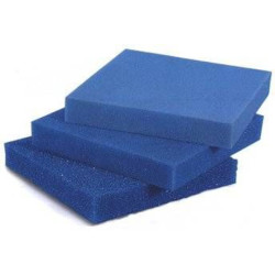 White Balance - Akvaryum Filtre Süngeri Kalın Gözenekli Mavi 10 PPI 50x40x5 cm.