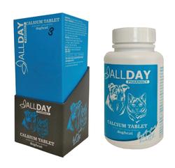 ALLDAY - AllDay 75gr Calcium Tablet Dog&Cat 3
