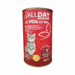 ALLDAY - AllDay All-Milk Kitten Biberonlu Yavru Kedi Süt Tozu 200gr