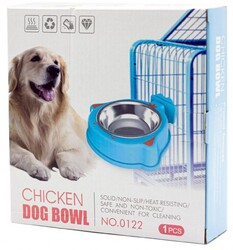 Fatih-Pet - Ally Paws Takma Aparatlı Mama Kabı - Chicken Dog Bowl