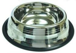 Little Friends - ASRST-96 Oz Gümüş Şeritli Çelik Mama Kabı