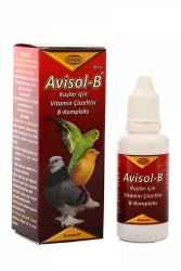Biyoteknik - Avisol-B Kuş Vitamin Kompleks 30 cc