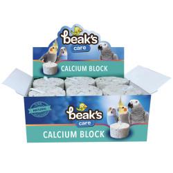 Fatih-Pet - Beakscare Calcium Block - Kuşlar için Kalsiyum Gaga Taşı 12 li