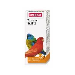 Beaphar - Beaphar Beavit B6/B12 Kuş Vitamini 50 ml