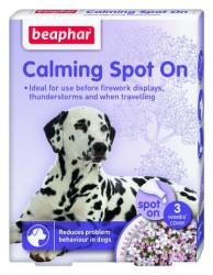 Beaphar - Beaphar Calming Spot On Köpek Sakinleştirici 3 Kapsül x 0,7 ml