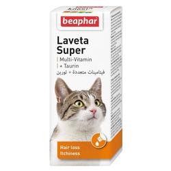 Beaphar - Beaphar Laveta Super Tüy Dökülme Önleyici Besin Takviyesi 50 ml