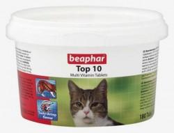 Beaphar - Beaphar Top 10 Kediler için Multi Vitamin 180 Tablet