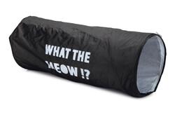 Beeztees - Beeztees Kedi Tüneli Siyah 64x25x25cm