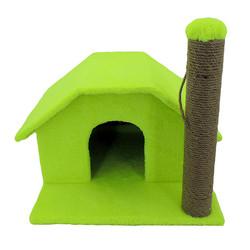 Fatih-Pet - Little Kedi Evi 40 cm Tırmalamalı