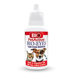 BioPetActive - BIO-EYES Kedi ve Köpekler için Göz Yaşı Lekesi Çıkarıcı 50 ml