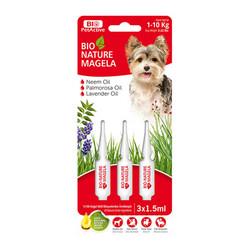 Biyoteknik - Bio Nature Magela Köpek Ense Damlası 3x1,5ml 1-10 Kg