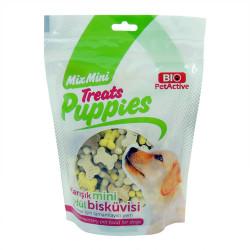 BioPetActive - Bio PetActive Treats Puppies - Köpekler için Karışık Mini Ödül Bisküvisi 200g