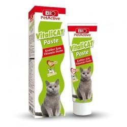 BioPetActive - BioPetActive Vitalicat Paste Kediler için Vitamin 100 ml