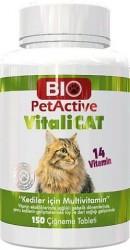 BioPetActive - BioPetActiveVitali-Cat Kediler İçin Eklem Multivitamin Tablet 150 li