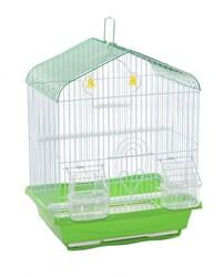 BirdLife - Birdlife 1008-1 Çift Kapılı Kuş Kafesi 30x23x39cm